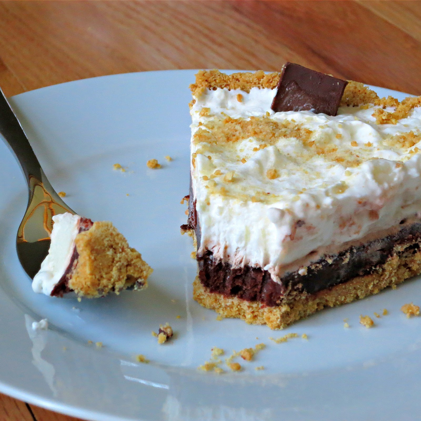 Easy Creamy S'more Pie - Alida's Kitchen