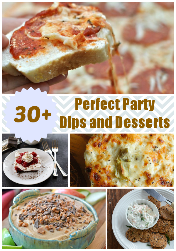 Easy recipes for dips for parties