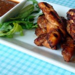 The Best Chicken Sate with Peanut Sauce