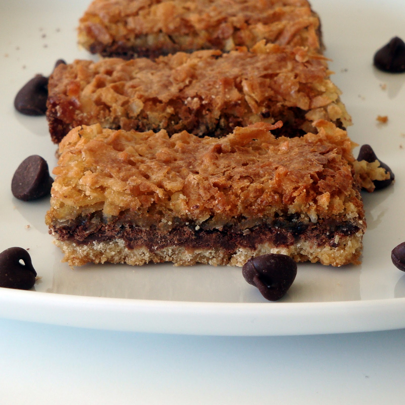 Coconut Chocolate Bars - Alida's Kitchen