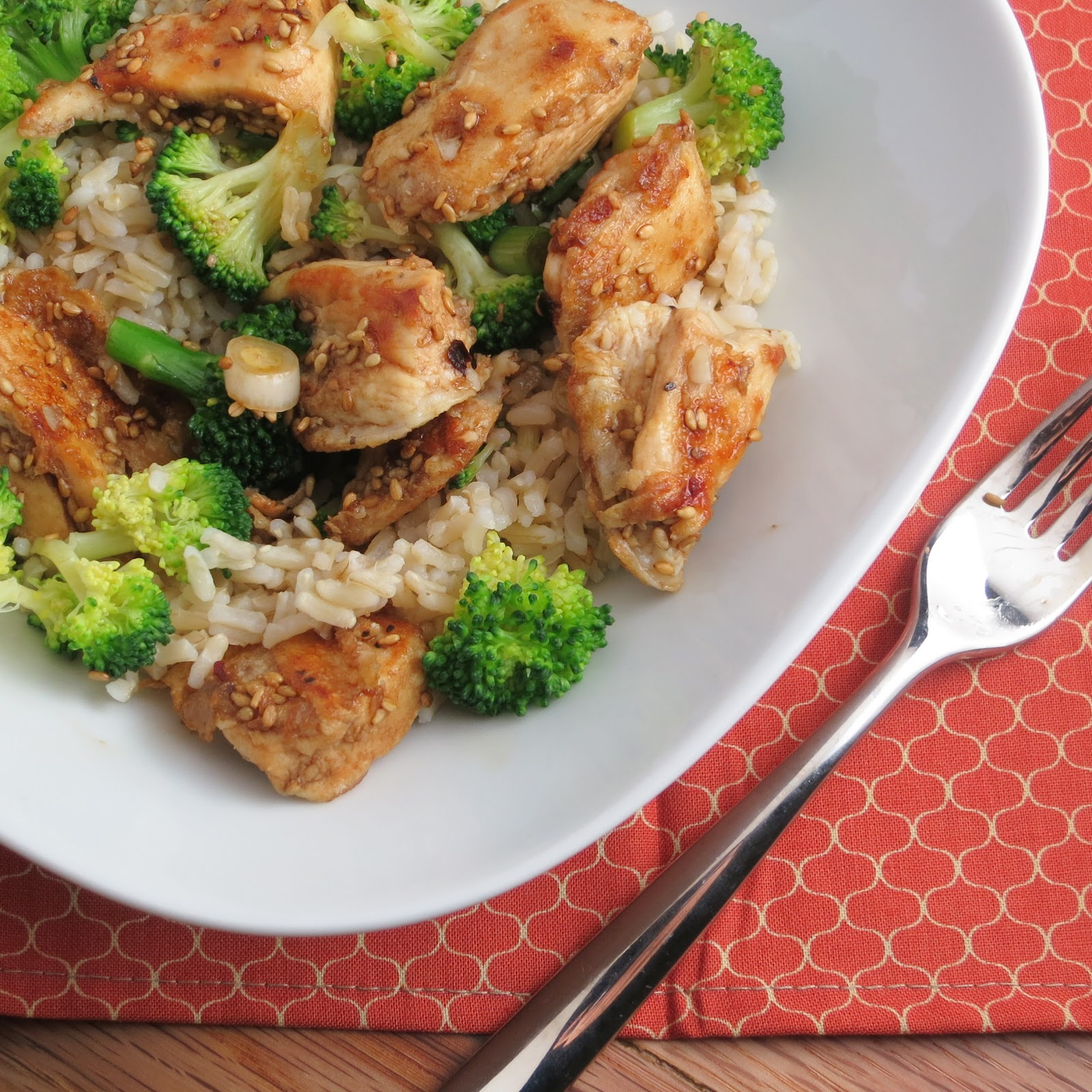 Lighter Sesame Chicken - Alida's Kitchen