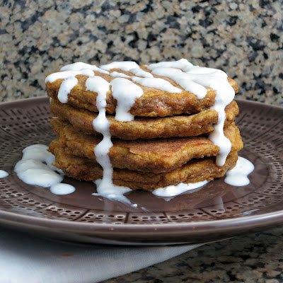 healthy carrot cake buttermilk pancakes