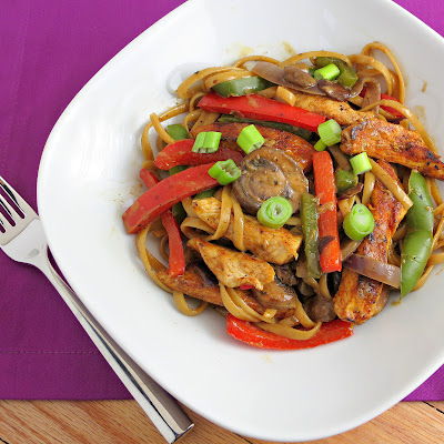 healthy lighter cajun chicken pasta
