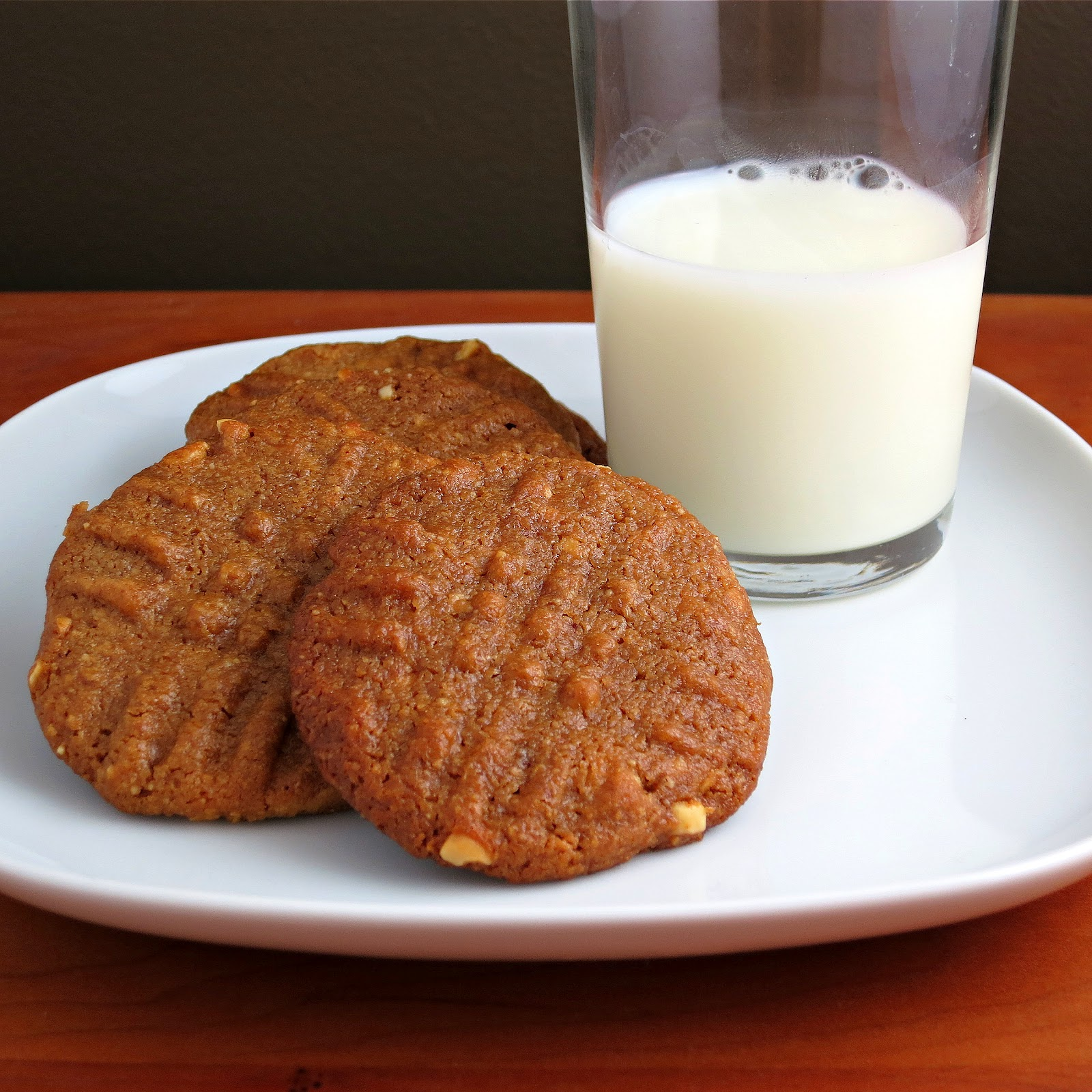 Flourless Peanut Butter Cookies - Alida's Kitchen