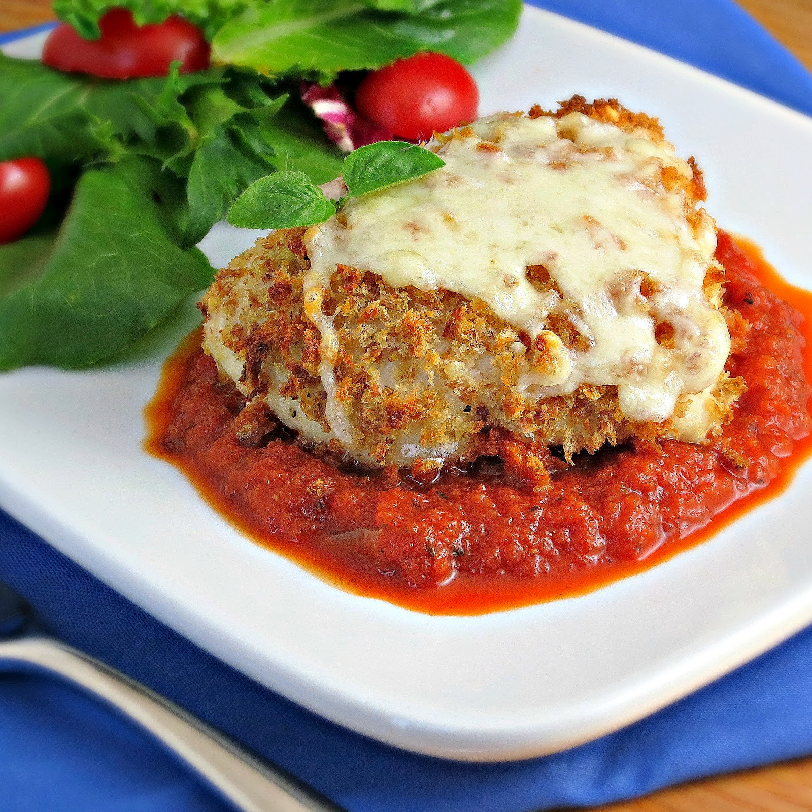 Light Chicken Parmesan - Alida's Kitchen