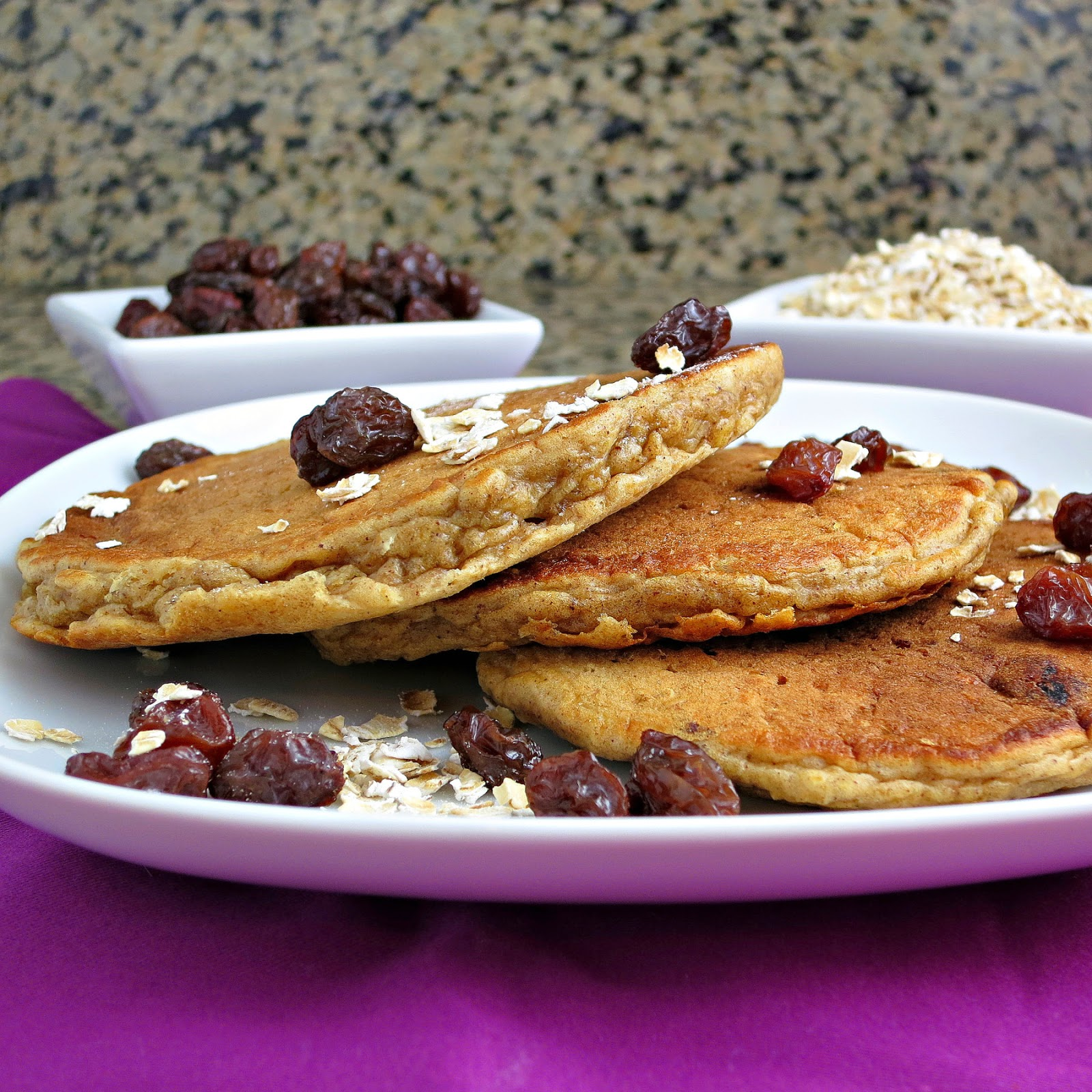 Oatmeal Raisin Pancakes Recipes — Dishmaps