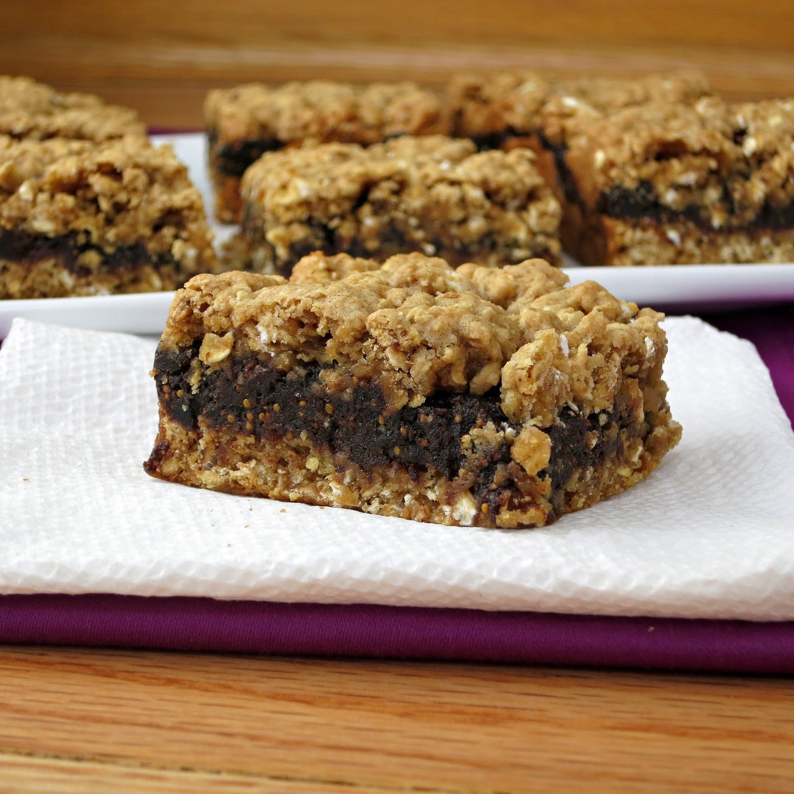 Oatmeal Fig Bars | Homemade Fig Newtons - Alida's Kitchen