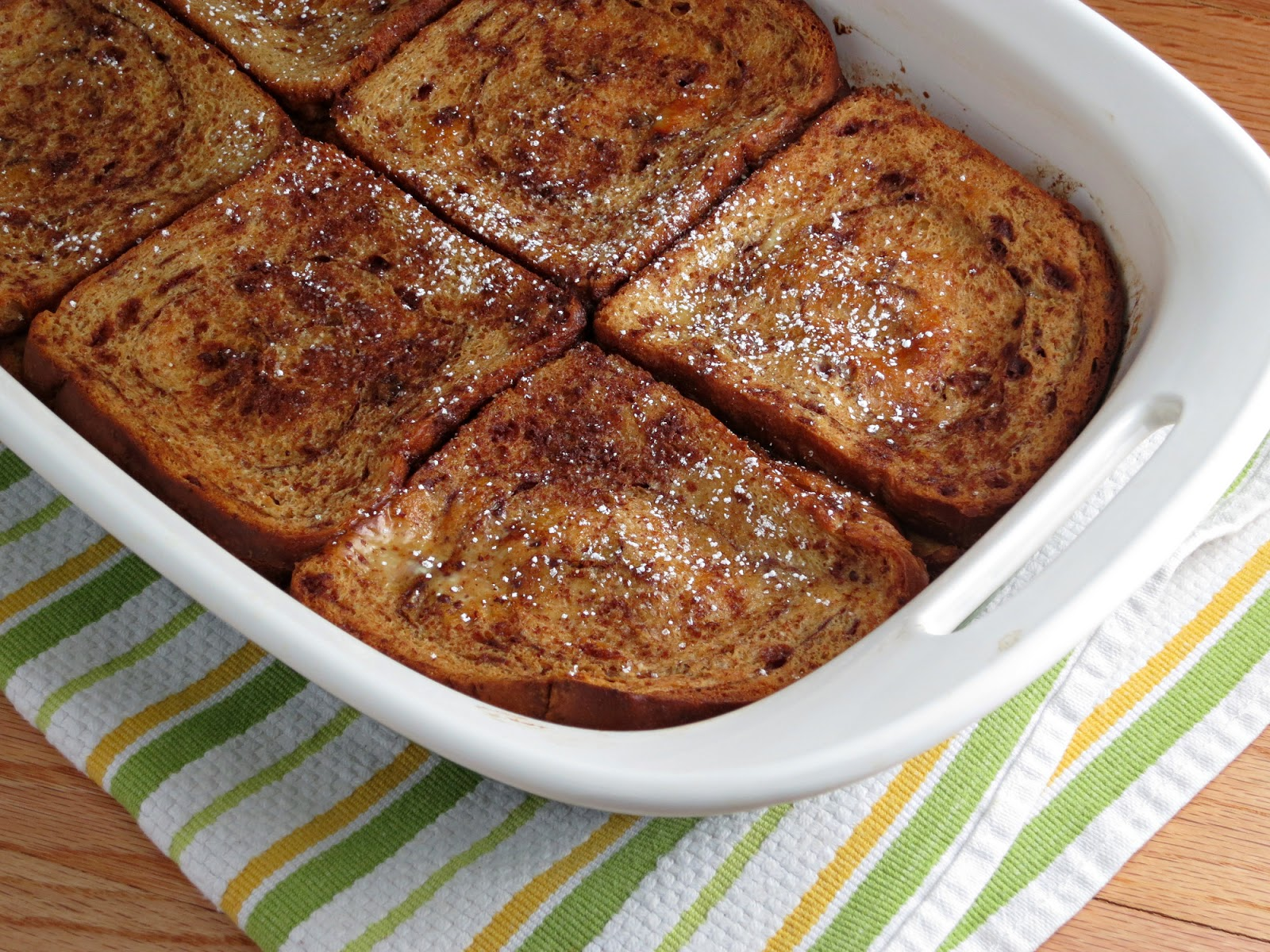 Baked Cinnamon French Toast - Alida's Kitchen