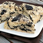 Cookies and Cream Scones