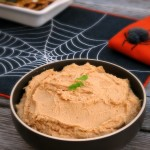Roasted Garlic Hummus #SundaySupper