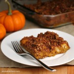 Baked Pumpkin French Toast #SundaySupper